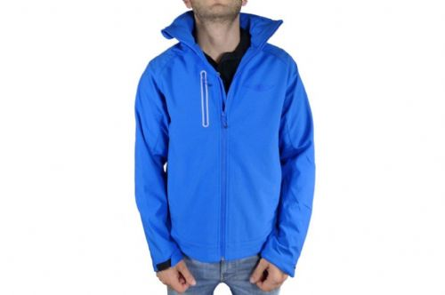 Mens Blue Softshell Jacket